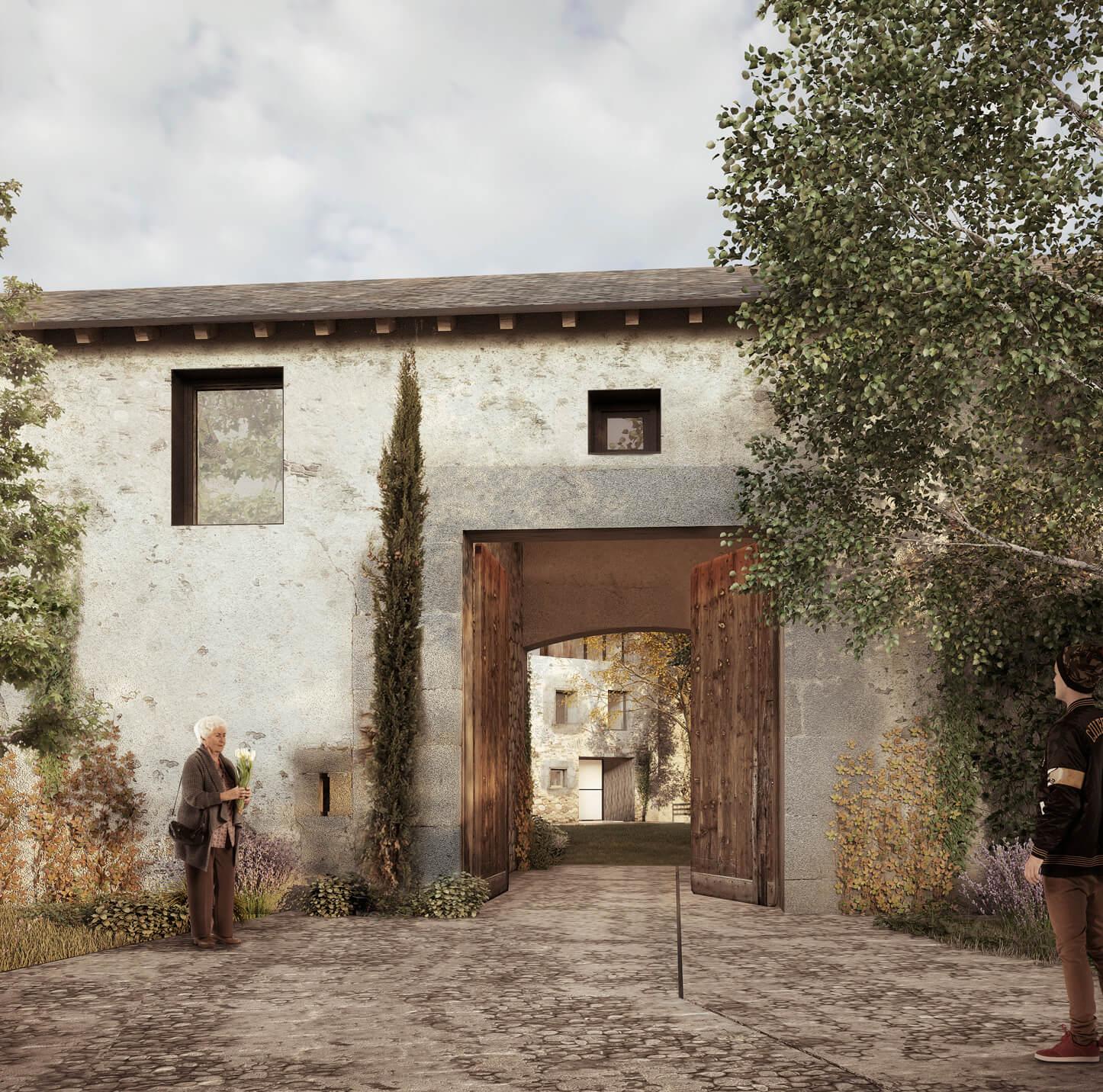 15-Viviendas en Bourg-Madame-CO arquitectura