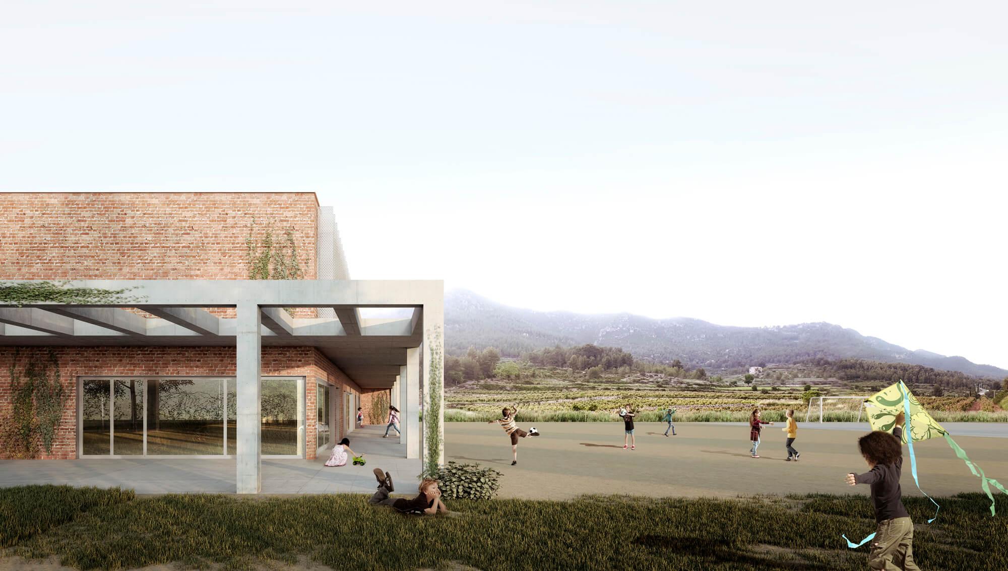 33-Escola Montmell - FPA arquitectes