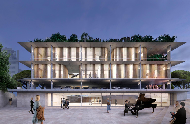 54-Casa musica Ibiza - Castel arquitectura