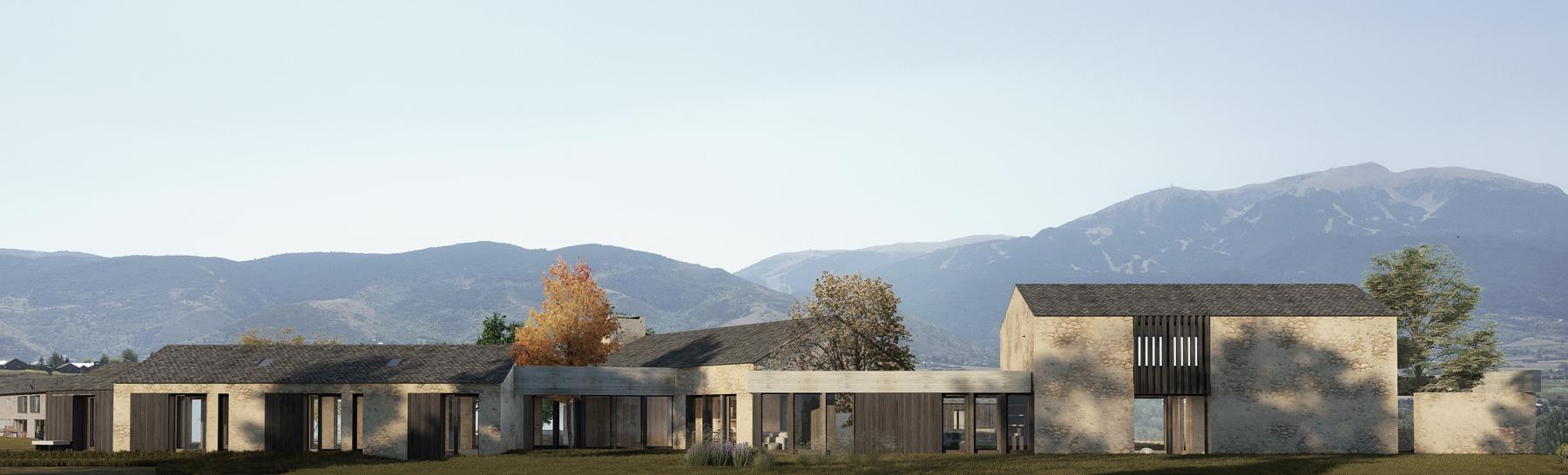 73-Casas en la Cerdanya- Damian Ribas arquitectura