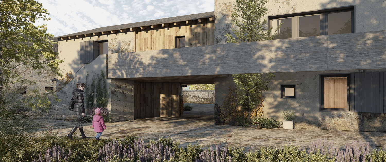 76-Viviendas en Bourg-Madame-CO arquitectura