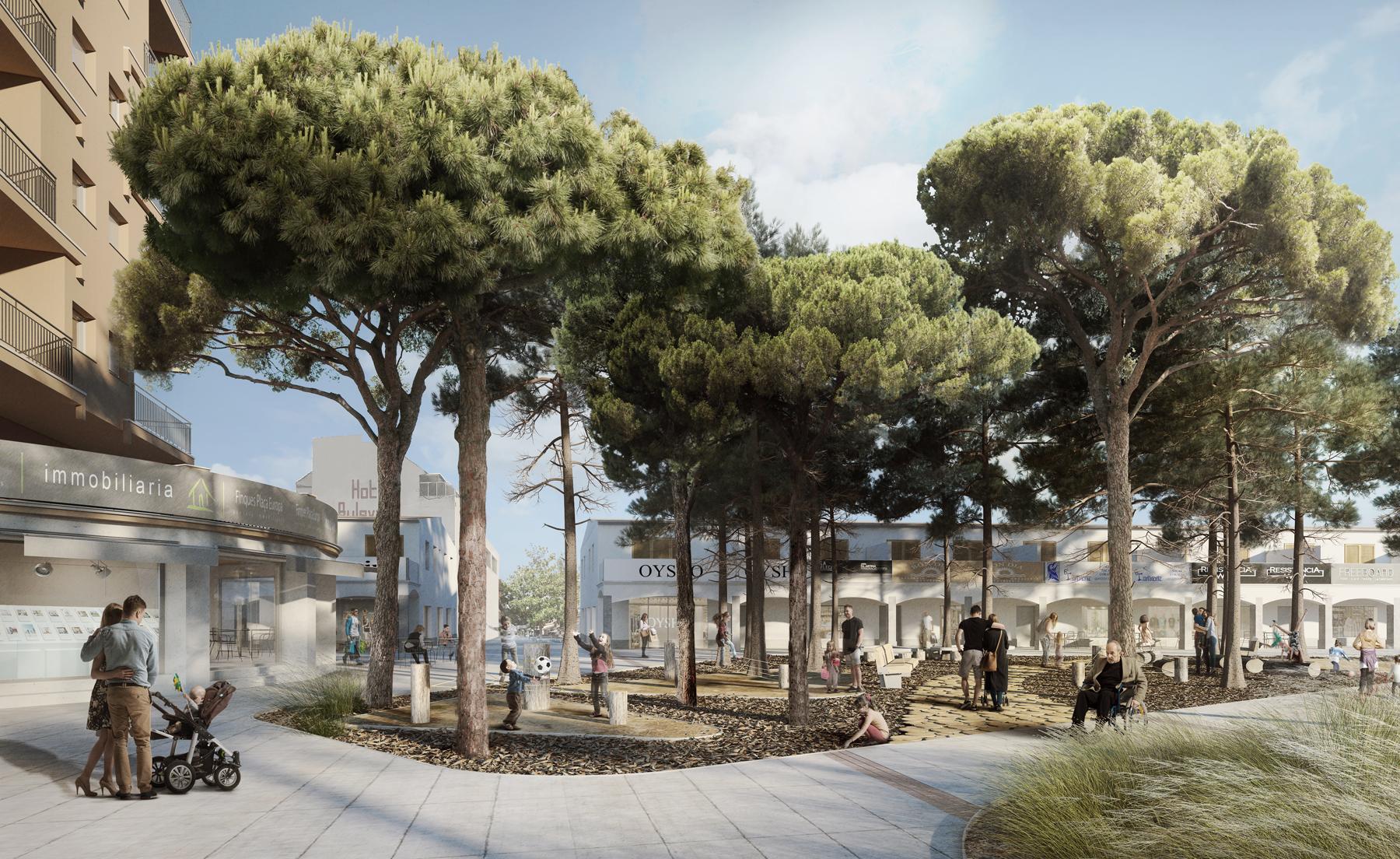 78-Urbanitzación espacio público en Platja d'Aro - PuigPaya arquitectura